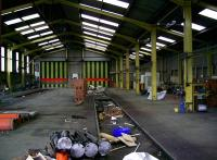 Perth New Yard - workshop/shed interior, Sept 2006.<br><br>[Gary Straiton&nbsp;05/09/2006]