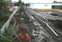 General view over the Alloa station site on 8 October 2006.<br><br>[John Furnevel&nbsp;8/10/2006]