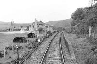 Arnage station, 1 June 1974.<br><br>[John McIntyre&nbsp;01/06/1974]