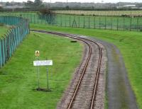 Eastriggs 2006. View south into the military complex which once comprised 125 miles of private track serving factories employing 30,000 workers and stretching as far as Longtown on the other side of the border.<br><br>[John Furnevel&nbsp;09/10/2006]
