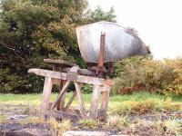 A set of redundant Avery coal weighing scales at Golspie. 16/10/06<br><br>[John Gray&nbsp;16/10/2006]