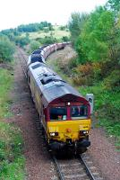 Coal from Killoch Washery takes the route to Ayr at Annbank.<br><br>[Ewan Crawford&nbsp;06/10/2006]