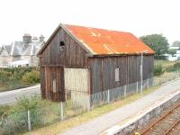 Brora, old goods shed looking north. 16/10/06<br><br>[John Gray&nbsp;16/10/2006]