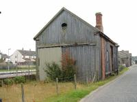 Brora,goods shed looking south. 16/10/06<br><br>[John Gray&nbsp;16/10/2006]
