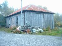 Derelict goods shed, Lairg, 16 October 2006.<br><br>[John Gray&nbsp;16/10/2006]