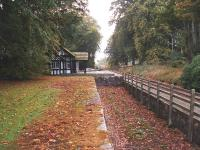 Dunrobin Castle halt looking south. 16/10/06<br><br>[John Gray&nbsp;16/10/2006]