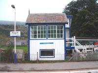 Rogart. The old signal box is now privately owned and is in good condition. 16/10/06<br><br>[John Gray&nbsp;16/10/2006]