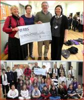 The Ladybank Primary School cheque presentation on 15 November - see news item.<br><br>[ScotRail&nbsp;15/11/2012]