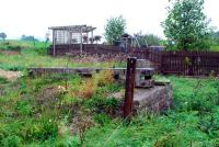 Penruddock looking west. Remains of goods loading bank.<br><br>[Ewan Crawford&nbsp;27/09/2006]