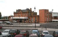 Berwick station has always had an up-market look about it. The recent reorganisation of the station approach and general surroundings has further improved its appearance. October 2006.<br><br>[John Furnevel&nbsp;24/10/2006]