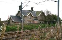 The former station at Scremerston, Northumberland on the ECML, photographed in October 2006.<br><br>[John Furnevel&nbsp;24/10/2006]