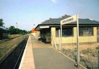 The new station at Bishop Auckland.<br><br>[Ian Dinmore //]
