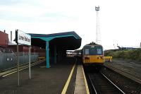 Just over the water from Stranraer. Class 80 recently arrived at Larne Harbour.<br><br>[Ewan Crawford&nbsp;//]