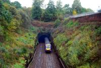 Since my last visit to this spot the rolling stock has been entirely renewed. The arrival of a train is not preceded by smoke erupting from the tunnel.<br><br>[Ewan Crawford&nbsp;28/10/2006]