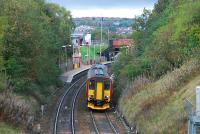 Eastbound DMU for Queen Street at Ashfield in 2006.<br><br>[Ewan Crawford&nbsp;28/10/2006]