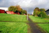 The Ruchhill Hospital Branch. The hospital is to the left and the route to the CR Dumbarton-Balornock line. The hospital was reached by a reversing spur behind the camera.<br><br>[Ewan Crawford&nbsp;28/10/2006]