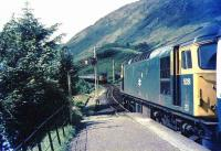 Passing at Glenfinnan in 1972.<br><br>[Ian Dinmore&nbsp;//1972]