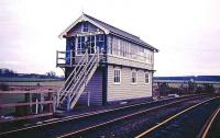 Clipstone West Junction signal box.<br><br>[Ian Dinmore //]