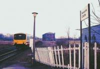 Train approaching Newark Castle station.<br><br>[Ian Dinmore&nbsp;//]