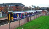 Glasgow bound service at Possilpark and Parkhouse.<br><br>[Ewan Crawford&nbsp;04/11/2006]