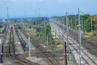 To the left are the up departure sidings and to the right the WCML.<br><br>[Ewan Crawford&nbsp;27/09/2006]