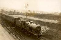 Darvel - Kilmarnock train at Kilmarnock. Standard <I>2</I> 4.4.0 665.<br><br>[G H Robin collection by courtesy of the Mitchell Library, Glasgow&nbsp;//1939]