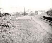 Remains of Greenock Lynedoch station, in 1967.<br><br>[John Gray&nbsp;//1967]