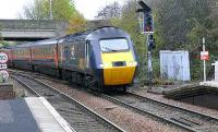 1215 to Kings Cross arriving 15mins. late, at Inverkeithing.<br><br>[Brian Forbes&nbsp;12/11/2007]