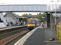 170457 calls with the 1225 outer circle train at Inverkeithing<br><br>[Brian Forbes&nbsp;12/11/2006]