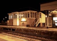 Nightshift - Stonehaven signal box, November 2006. <br><br>[John Furnevel&nbsp;04/11/2006]