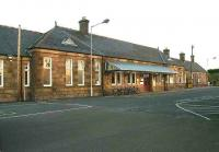 Main station building at Inverurie from the car park on the afternoon of 6 November 2006.<br><br>[John Furnevel&nbsp;06/11/2006]