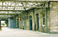 Elgin East. Although closed to passengers in 1968 still in departmental use in 1987.<br><br>[Brian Forbes&nbsp;/05/1987]
