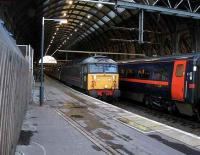 47703 at the head of a charter to Manchester.<br><br>[Michael Gibb&nbsp;18/11/2006]