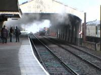 We miss this! Steam lingering.<br><br>[Brian Forbes&nbsp;/05/2006]
