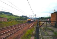Southbound WCML express at Beattock in August 1994.<br><br>[John McIntyre&nbsp;06/08/1994]
