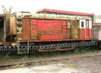 Ex-BR class 11 12052 awaiting restoration at Brechin in November 2006.<br><br>[John Furnevel&nbsp;07/11/2006]