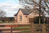 The former station masters house at Cruden Bay in November 2006.<br><br>[John Furnevel&nbsp;06/11/2006]
