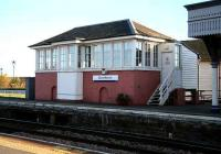 The signal box at Stonehaven in November 2006.<br><br>[John Furnevel&nbsp;/11/2006]