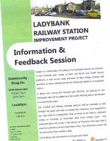 Ladybank Railway Station improvement project information brochure - see news item. <br><br>[ScotRail&nbsp;15/11/2012]