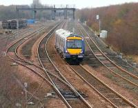 View west over Cadder Yard on 1 December 2006.<br><br>[John Furnevel&nbsp;01/12/2006]
