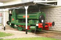 One of the rescued and restored ex Aberdeen Gas Corporation locomotives, No 3, sheltered from the rain (lucky for some) outside the Grampian Transport Museum, Alford, on 8 November 2006 (unfortunately the museum was closed for the winter!) [See image 18062]<br><br>[John Furnevel&nbsp;08/11/2006]