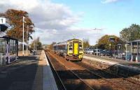 Looking north from Dyce station in Nov 2006.<br><br>[John Furnevel&nbsp;/11/2006]