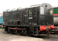 BR class 11 shunter 12093 stands in the yard at Brechin in November 2006.<br><br>[John Furnevel&nbsp;07/11/2006]