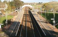 Looking north over Portlethan station towards Aberdeen, 2006.<br><br>[John Furnevel&nbsp;/11/2006]