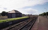 Wick station and yard in August 1989.<br><br>[John McIntyre&nbsp;15/08/1989]