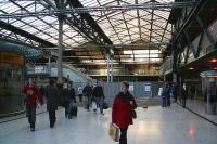 Waverley Western concourse on 15 December 2006. The new escalator links to Waverley Steps are in place as is the new cross-station walkway connection running above the Balmoral platform, to which it will also provide access.<br><br>[John Furnevel&nbsp;15/12/2006]
