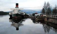 Maid of the Loch and Balloch Pier.<br><br>[Ewan Crawford&nbsp;20/12/2006]