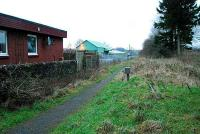 Looking to Stirling at the former Drymen station (in Croftamie).<br><br>[Ewan Crawford&nbsp;20/12/2006]