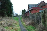 Looking to Balloch at the former Drymen station (at Croftamie).<br><br>[Ewan Crawford&nbsp;20/12/2006]