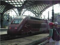 SNCB Thalys departs as ecs after arriving from Brussels. It seems that these trains have an army of young admirers.<br><br>[Paul D Kerr&nbsp;24/07/2006]